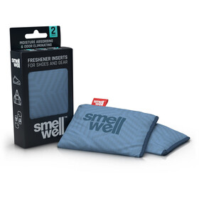 SmellWell Active Freshener Inserts for Shoes and Gear geometric grey